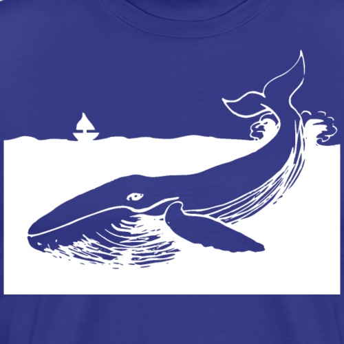 White Whale - Men's Premium T-Shirt
