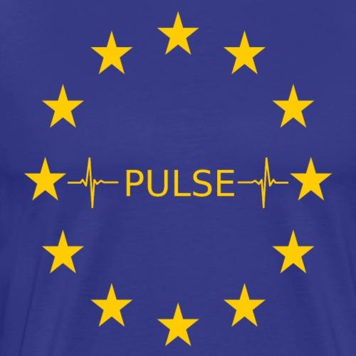 EU Pulse (Europe Pulse) - Männer Premium T-Shirt