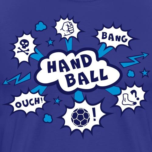 Handball BangBoom Wolke2 - Männer Premium T-Shirt