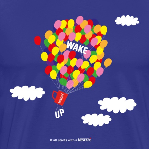 WAKE UP - T-shirt Premium Homme