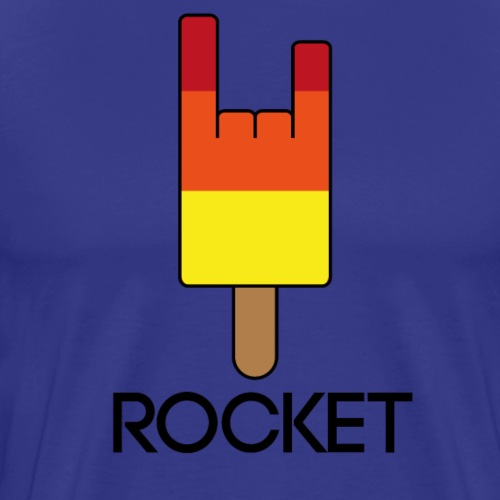 rocket - Mannen Premium T-shirt