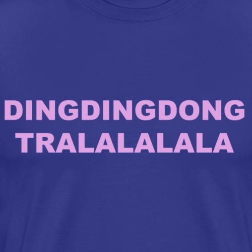DINGDINDDONG - Maglietta Premium da uomo