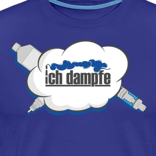 ichdampfe logo - Männer Premium T-Shirt