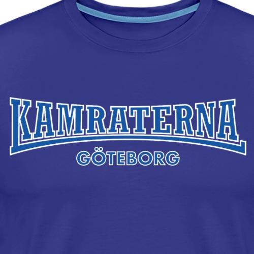 Kamraterna Göteborg Blå - Premium-T-shirt herr