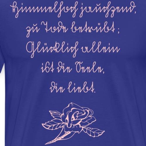 Rosen-Seele... - Männer Premium T-Shirt