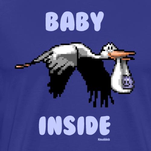 Babyinside - Boy - Männer Premium T-Shirt