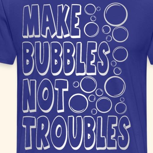 Bubbles003 - Mannen Premium T-shirt