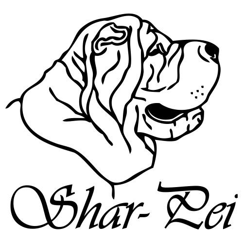 sharpei © - www.dog-power.nl - Mannen Premium T-shirt