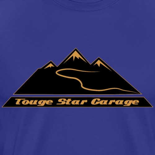 Touge Star Garage - Main Logo - Männer Premium T-Shirt