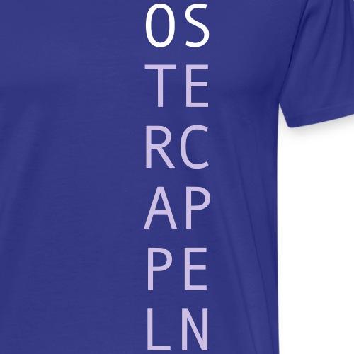 Ostercappeln (Osnabrück) - Souvenir Geschenkidee - Männer Premium T-Shirt