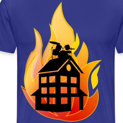 firehouse svart - Premium-T-shirt herr