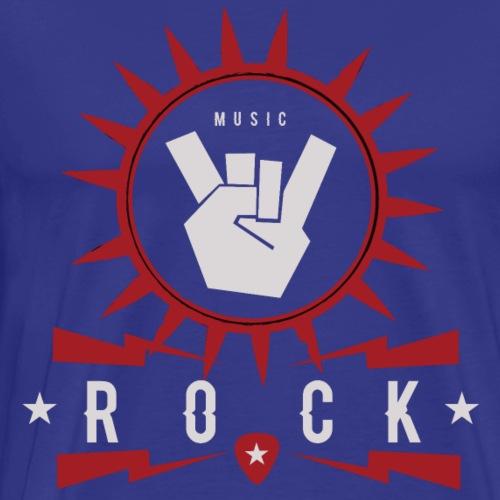 Rock Music - Camiseta premium hombre