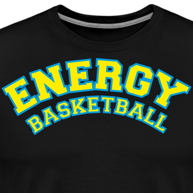 street wear logo giallo energy basketball