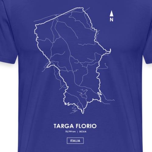 TARGA FLORIO 72 km - SICILY Track Map - Men's Premium T-Shirt