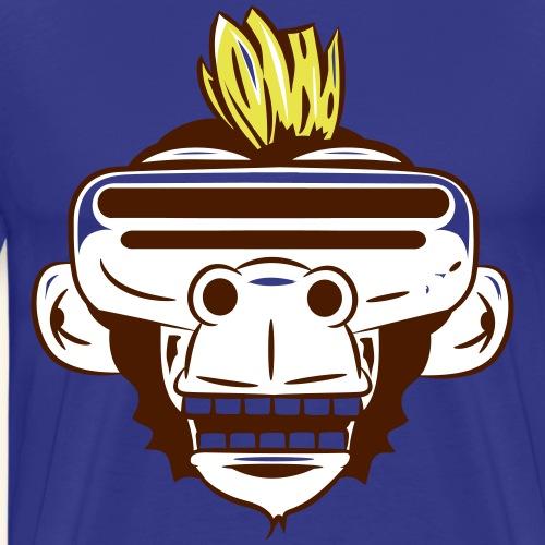 VR-Ape - Männer Premium T-Shirt