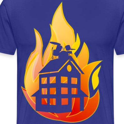 firehouse urklippt - Premium-T-shirt herr