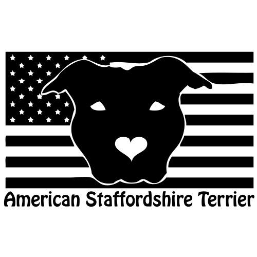 stafford - www.dog-power.nl © - Mannen Premium T-shirt