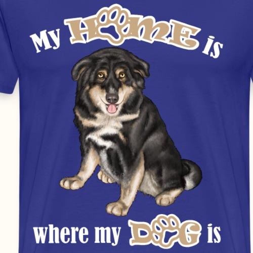 Hündin Emma - weiß - Männer Premium T-Shirt