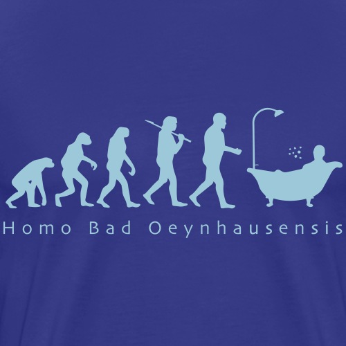 Kurstadt-Evolution BUNT - Männer Premium T-Shirt