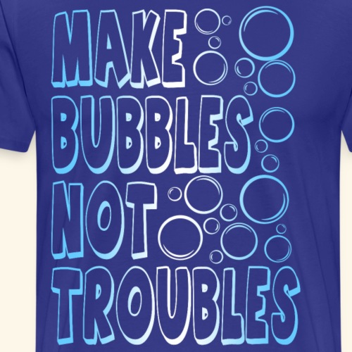 Bubbles001 - Mannen Premium T-shirt