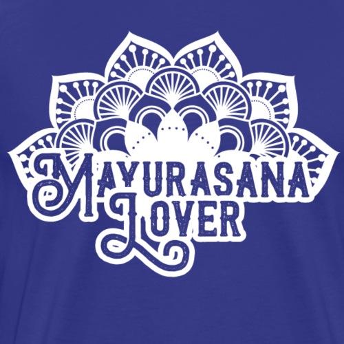 Mayurasana Lover / Yoga -blanc- - T-shirt Premium Homme