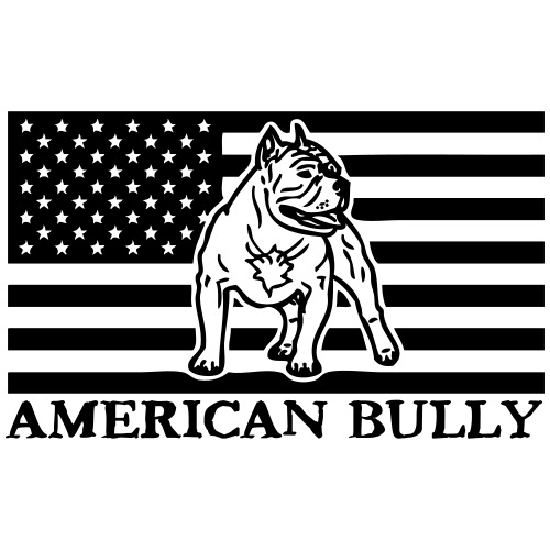 AmericanPitbull Bully © - www.dog-power.nl - Mannen Premium T-shirt
