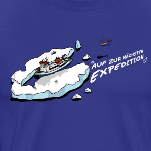 lustiges Expeditionsschiff für kleine Entdecker - Männer Premium T-Shirt