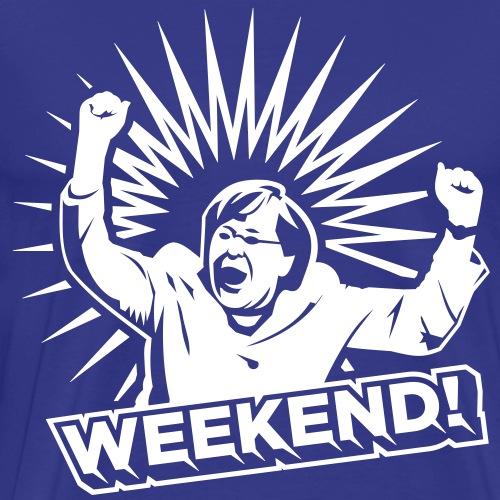 Party T Shirt Hoch die Hände - Wochenende - Männer Premium T-Shirt