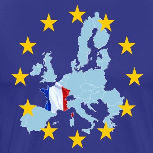 EU France (Frankreich Europa) - Männer Premium T-Shirt