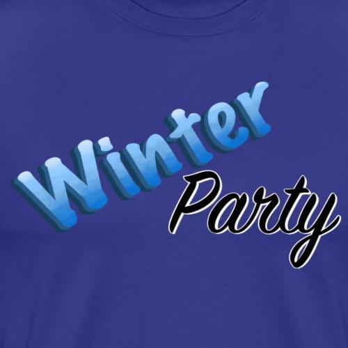 Winter Party - Premium-T-shirt herr