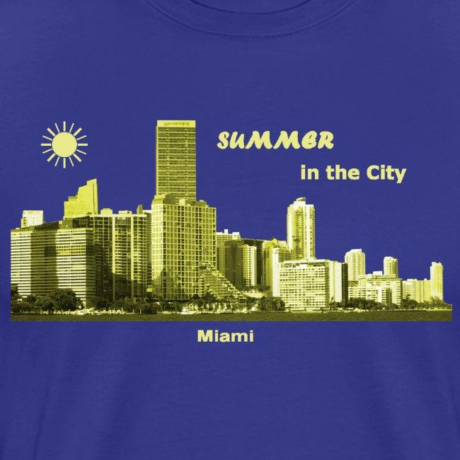 Summer Miami City Florida USA
