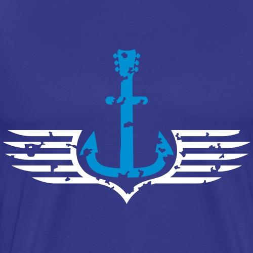 wolf_barsch_logo_122015_c_2c - Männer Premium T-Shirt