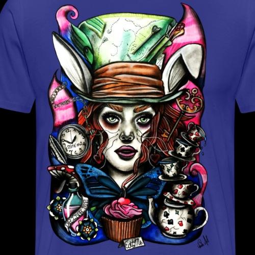 Alice im Wunderland - Männer Premium T-Shirt