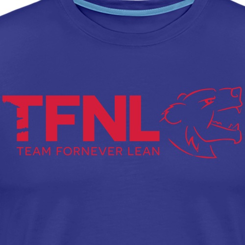 TFNL Red/Navy Logo Tee - Men's Premium T-Shirt