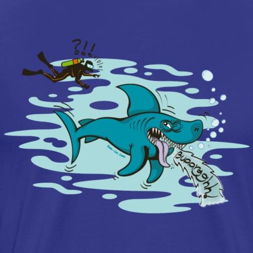 Disgusted Shark - Men's Premium T-Shirt