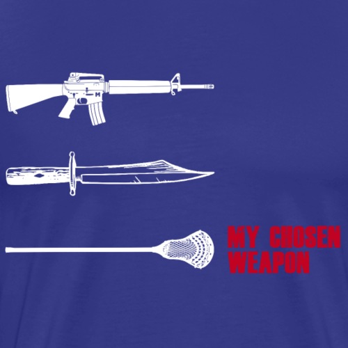 Lacrosse AX Shirt - Männer Premium T-Shirt