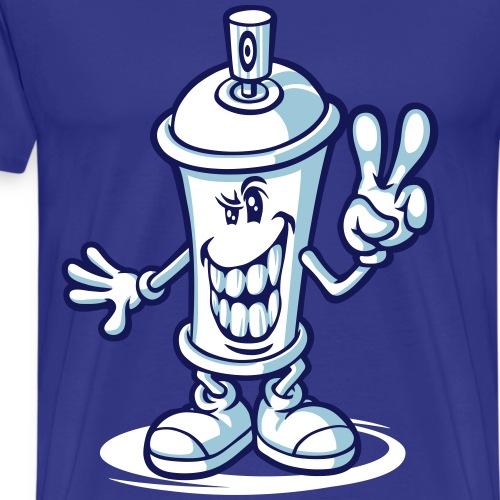 Happy paint spray flex - T-shirt Premium Homme