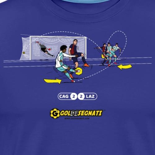 CAG-LAZ 2-2 | Il gol di tacco di Ciro - Maglietta Premium da uomo