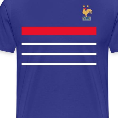 La France championne du monde 2018 rétro - T-shirt Premium Homme