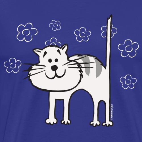 10-1C CAT, KISSA Textiles and Gift Products - Miesten premium t-paita