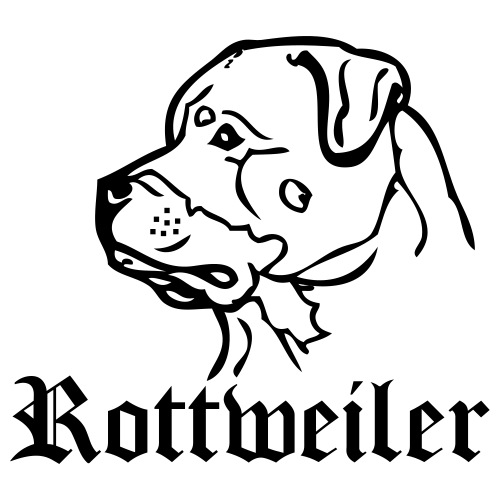 rottweiler - www.dog-power.nl - Mannen Premium T-shirt