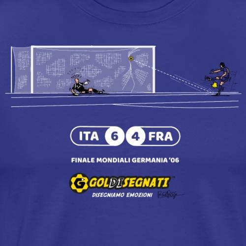 ITA-FRA 6-4 L'ultimo rigore