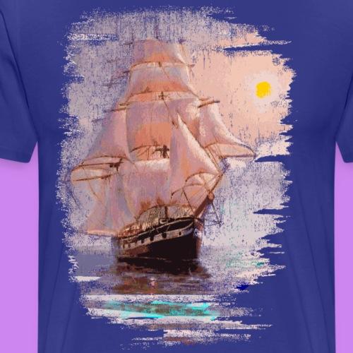 sailing vessel - Mannen Premium T-shirt