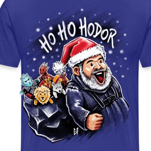 Ho Ho Hodor - T-shirt Premium Homme