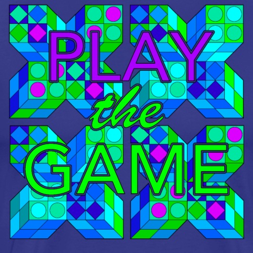 Play the game - Men's Premium T-Shirt