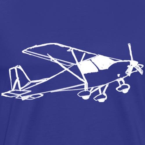 Motorflugzeug Pilot fliegen Flugzeug Geschenk - Männer Premium T-Shirt