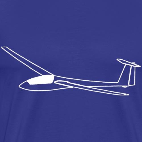 Segelflieger Geschenk Segelflugzeug gleiten tshirt - Männer Premium T-Shirt
