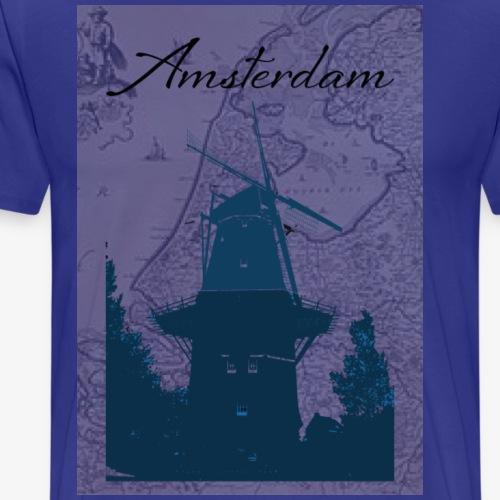 Amsterdam city - Maglietta Premium da uomo