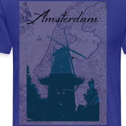 Amsterdam by - Herre premium T-shirt