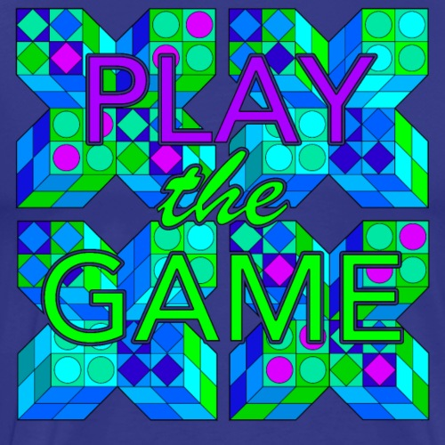 Play the game - Men's Premium T-Shirt